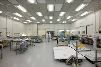 Class 1000 clean room